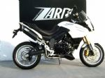 ZARD Exhaust Triumph Tiger 1050, high mounted, stainless steel/aluminium, slip on, e-marked